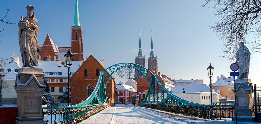 Vroclav winter