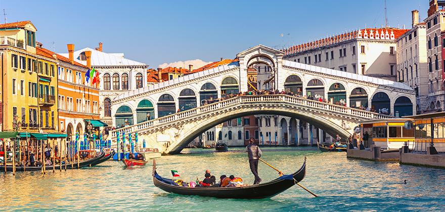 Italy Bridges Houses 502565