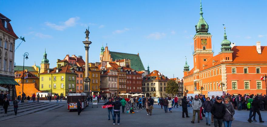 """Тур """"Варшава - Прага - Дрезден"""" всего от 214 руб/5 дней"""