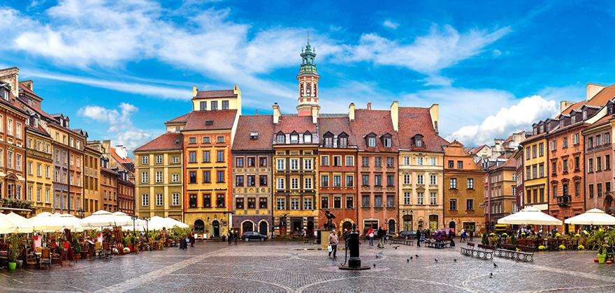 """Тур """"Варшава - Прага - Вена - Будапешт"""" от 276 руб/5 дней"""