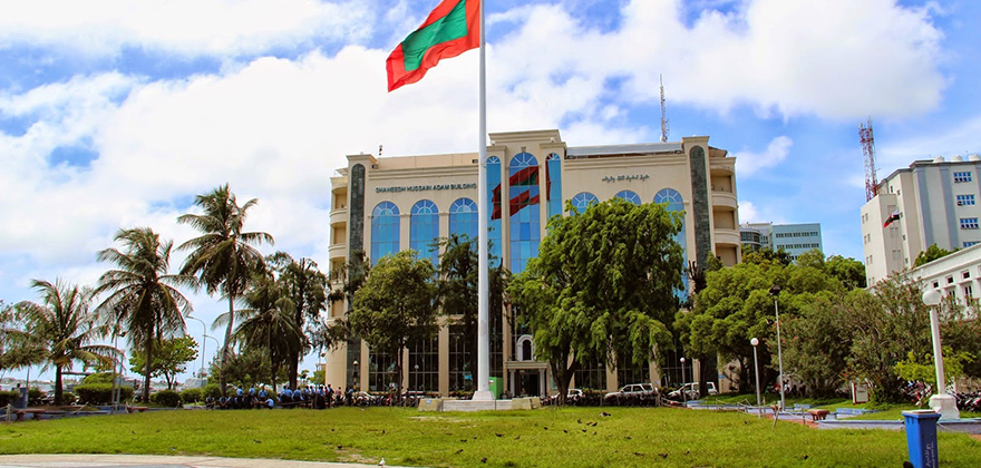 Republic Square Male Maldives
