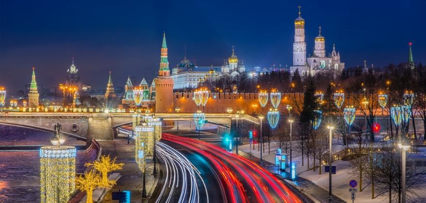 Moskva zima 2
