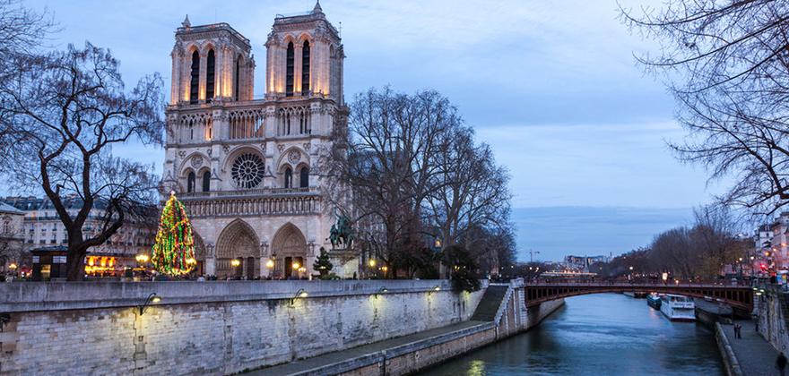 pogoda v parizhe zimoj
