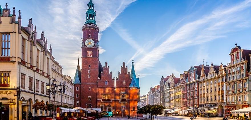 "Тур ""Варшава-Лодзь-Вроцлав"" + шопинг в Польше от 118 руб/3 дня"