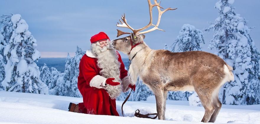 Путешествие в Лапландию к Санта Клаусу с посещением Арктического зоопарка!