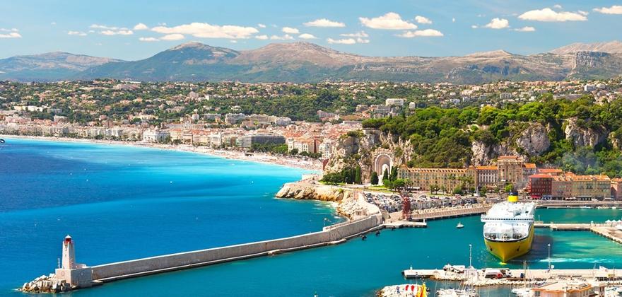 Лазурный берег Франции - Прованс - Лигурия