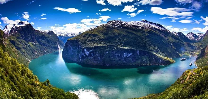 Швеция Нэрёй–фьорд Норвежские фьорды Норвегия