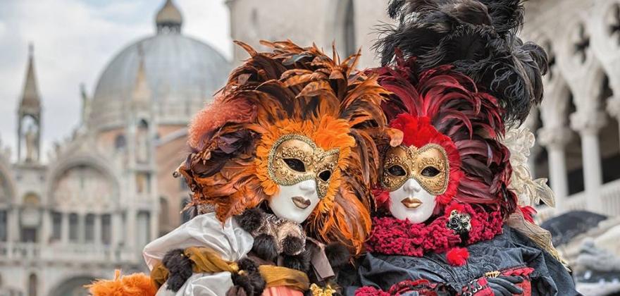 Итальянские каникулы с посещением Венецианского карнавала + Прага