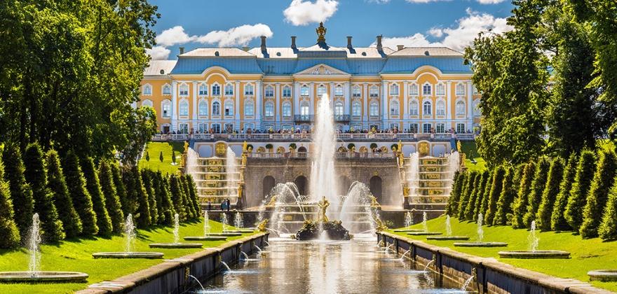 Санкт-Петербург - Петергоф - Гатчина - Павловск - Кронштадт